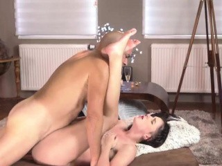Old young anal strapon first time Vacation in mountains